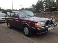 Volvo 240 GL Estate (245) Low mileage, very good condition