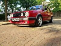 Volkswagen Golf 1.8 Gti 8v MK2 Big Bumpers 1 Year MOT Full Service History Great Car PX Welcome