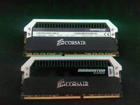 Corsair Dominator Platinum 16GB (2 x 8GB) DDR3 1866Mhz + Original Packaging