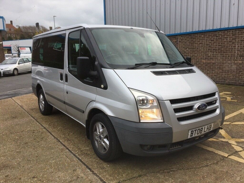 2008 ford transit tourneo 9 seater minibus in brighton. Black Bedroom Furniture Sets. Home Design Ideas