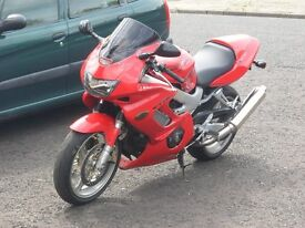 honda vtr firestorm, y reg 2001, mint condition.