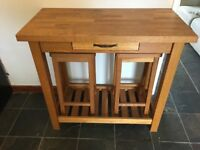 Laura Ashley Brompton Breakfast Console Table with stools