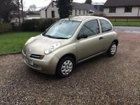 2004 NISSAN MICRA 1.2 AUTOMATIC -- 49000 MILES --