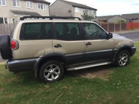 Nissan terrano 3.0 tdi SVE Manual 7 seater