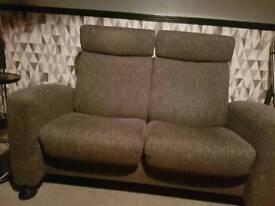 Stressless 2 seater sofas x2