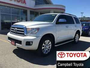 2012 Toyota Sequoia Platinum ALL THE TOYS NAV MOON ROOF DVD AND