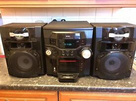 Bush 5 CD changer with iPod deck