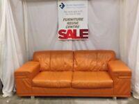 Large Orange 2 Seat Suite