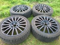 Alloy wheels & tyres very good condition £300
