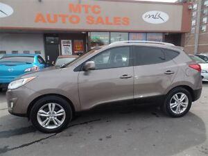 2012 Hyundai Tucson Limited (A6), AWD, LEATHER SEATS, KM:65K