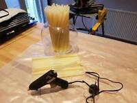 Hot glue gun and 115 glue sticks