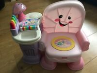 Fisherprice Laugh And Learn Musical chair
