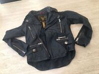 Super Dry Leather Jacket