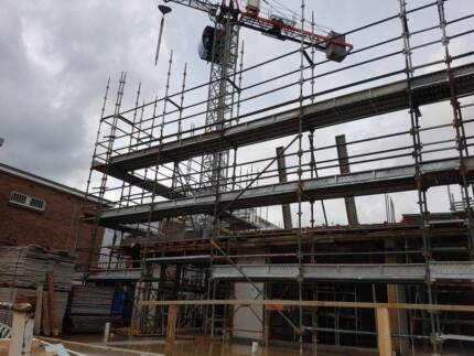 Commercial And High Rise Building Scaffold Hire