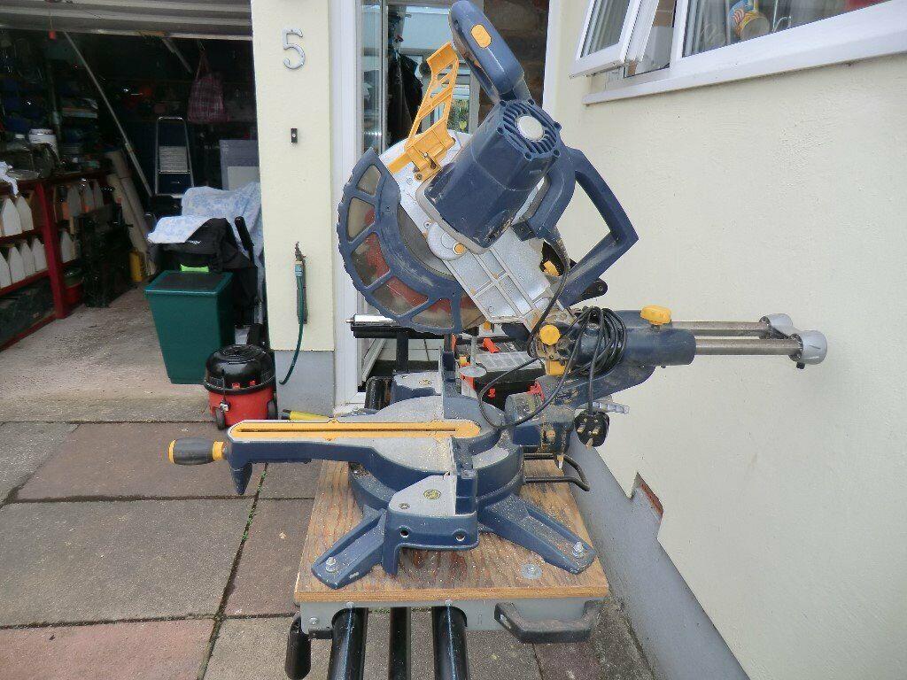 MacAlister sliding compound bevel mitre saw    in Brixham, Devon   Gumtree