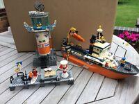 Lego Coastguard set