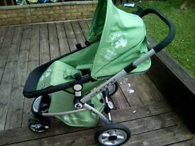 Baby buggy...