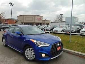 2013 Hyundai Veloster TURBO NAVIGATION LEATHER PANORAMIC SUNROOF