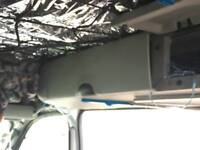 Kangoo car cupboard for camper transformation storage