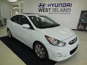 2014 Hyundai Accent GLS 1.6L Berline/Sedan MAGS/TOIT 49$/semaine
