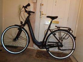 Cube Town pro comfort ladies aluminium bike(MINT)