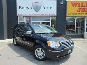 2008 Chrysler Town & Country LIMITED-FULLY LOADED,NAVI,B-UP CAME