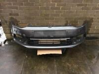 Vw Polo front bumper With middle grill