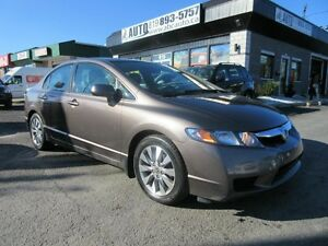 2009 Honda Berline Civic EX-L Leather Sunroof Heated Seats