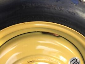 Space saver spare wheel get you home 17 inch