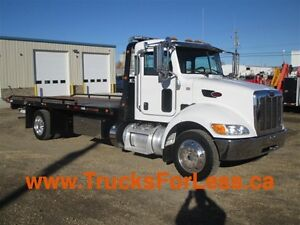 2013 Peterbilt 337, 21 Ft JERR-DAN ROLL BACK!!!