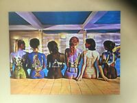 Pink Floyd back catalogue stretched box canvas art print