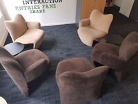 Kron Multipla Chairs (by Jane Dillon) 2007 - set of 5 (or sold seperately) - Great Condition!