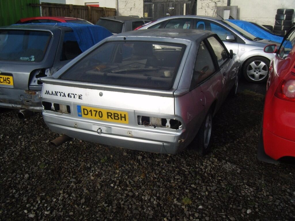 1987 opel manta gte 2000cc exc engine box low miles. Black Bedroom Furniture Sets. Home Design Ideas