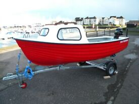 BOATS 2020 DEAL £200 CREDIT - JURA FISHERMAN - PACKAGE BOAT, ENGINE, TRAILER - ALL NEW