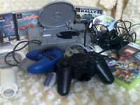 NON WORKING PLAYSTATION AND EXTRAS FOR SALE
