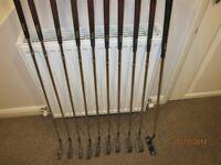 Macgregor Full Set of irons, Putter and bag