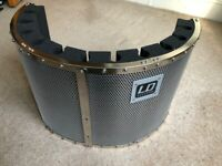 LD Systems RF1 Microphone Screen Vocal Booth Reflection Filter
