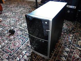 Cheap HP Pavilion 500 PC, A4-5300 3.4GHz, 4GB RAM, 250GB, Windows 10