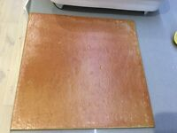 Terracotta floor tiles x23 - new without packaging