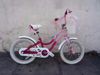 Girls Bike by Trek, Pink, 16 inch Wheels For Kids 5+, Great Condition, JUST SERVICED / CHEAP PRICE!!