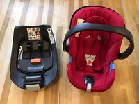 Mamas & Papas Cybex Aton baby car seat & Isofix