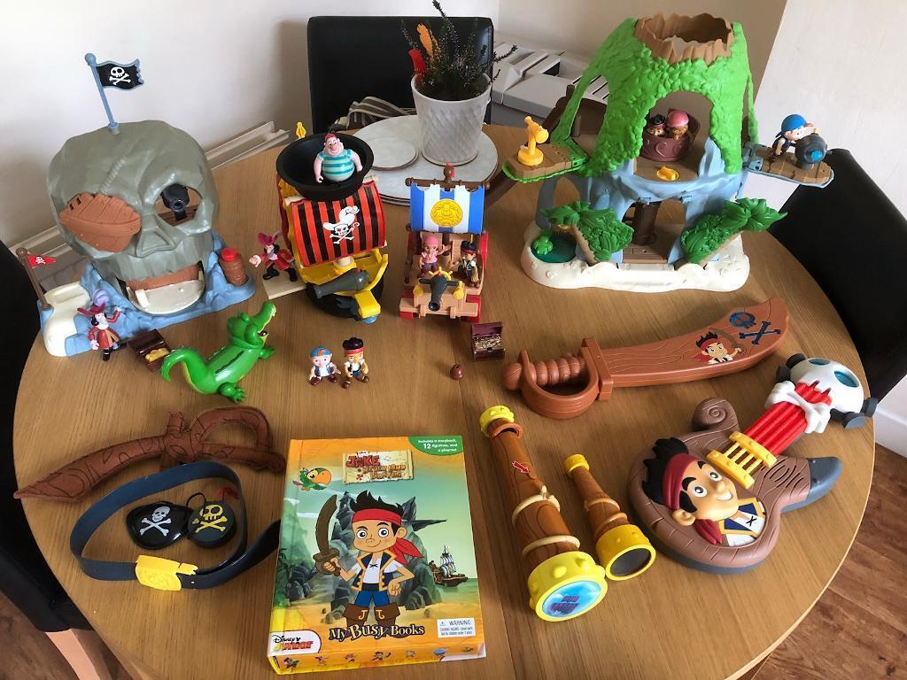Jake & The Neverland Pirates Job Lot