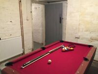 Pre-loved American Style pool table