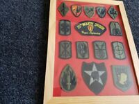 American military patches