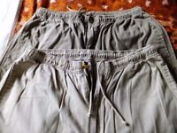 2 pairs mens trousers 36inch waist