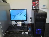 ★Tripple Core Wireless Gaming Pc + New Peripherals★