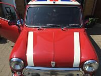 Classic Mini Italien job 1987 amazing refurbished car