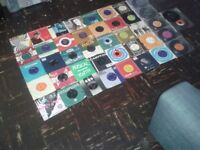 "42 x small 7"" 45 rpm vinyls GENE VINCENT BUDDY CLIFF JERRY LEE BEATLES HOLLIES ORBISON BEACH BOYS"