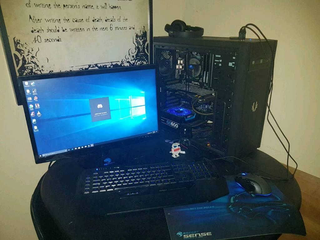 Render / gaming pc set up