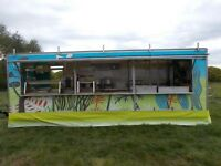 catering trailer with marquee food trailer and a selection of catering equipment – Bespoke